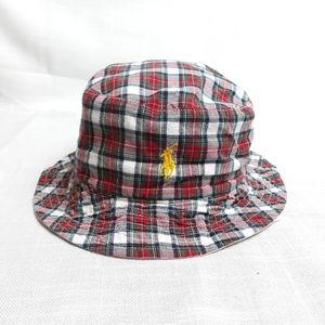 Polo Ralph Lauren plaid bucket hat